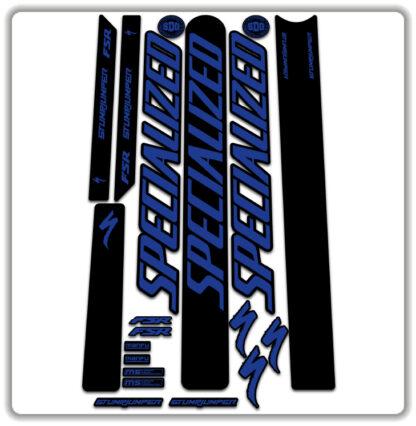 Blue Specialized Stumpjumper FSR Stickers