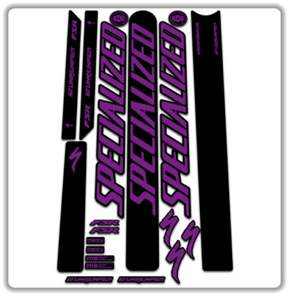 Hope Purple Specialized Stumpjumper FSR Stickers