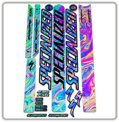 Oilslick Specialized Stumpjumper FSR Stickers