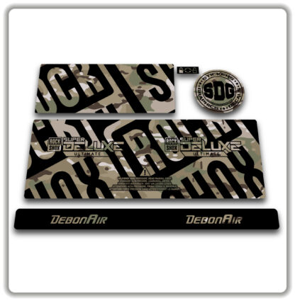 2020- 21 ROCKSHOX SUPER DELUXE ULTIMATE - stickers - MultiCam