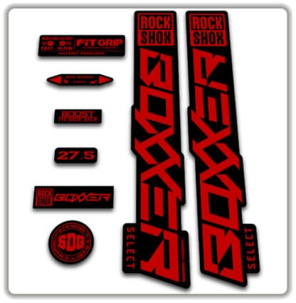Rockshox Boxxer Select Fork Stickers 2020