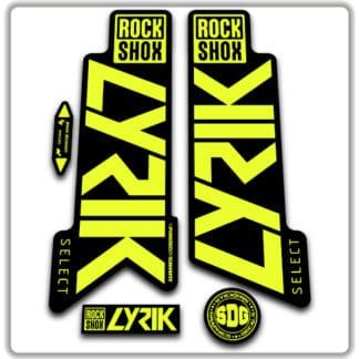 Rockshox Lyrik Select Fork Stickers 2020