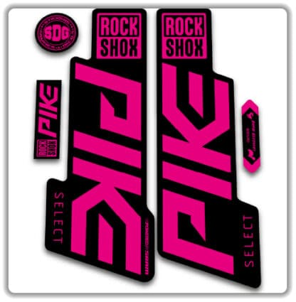 Rockshox Pike Select Fork Stickers 2020