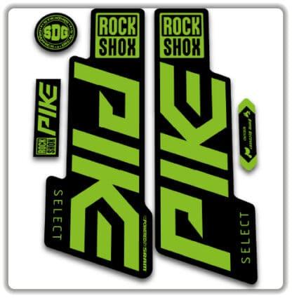 Rockshox Pike Select Fork Stickers 2020