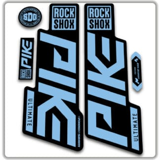 Rockshox Pike Ultimate Fork Stickers 2020
