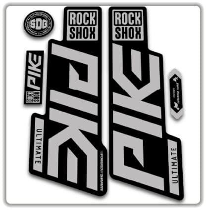 Rockshox Pike Ultimate Fork Stickers 2020