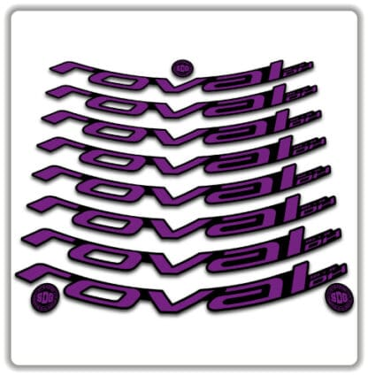 ROVAL DH 27.5 Rim Stickers 2020