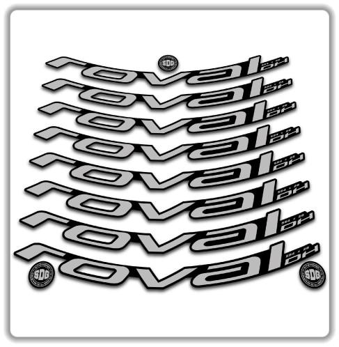 Wh26 bike rims stickers roval dh AUFKLEBER ADESIVI AUTOCOLLANT stickers