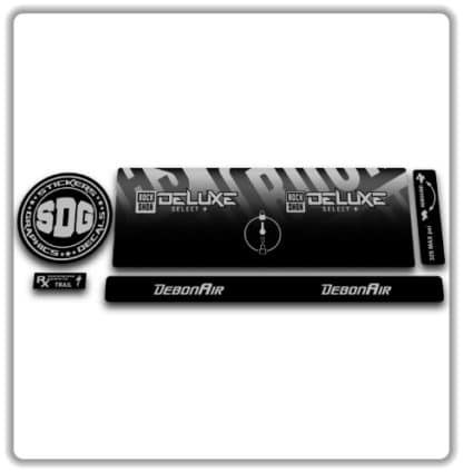 Rockshox Deluxe Select + Rear Shock Sticker 2020