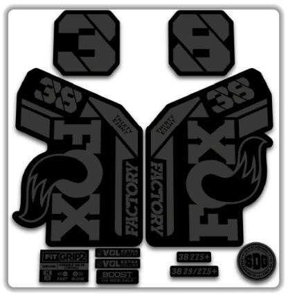Fox 38 Grip 2 Fork Stickers 2021