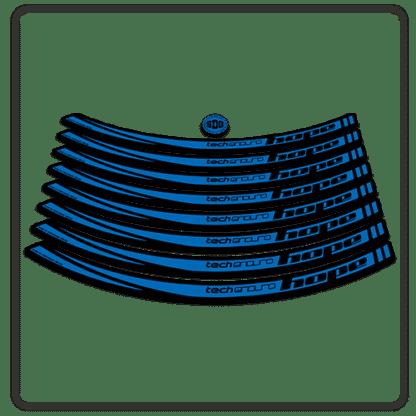 Blue Hope Tech Enduro 26 Rim Stickers