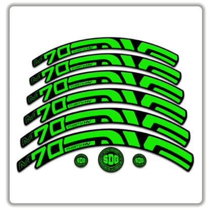 Enve M70 Thirty HV 27.5 Rim Stickers