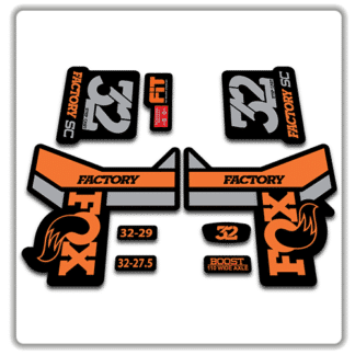 Fox 32 Step Cast Fork Stickers 2018 Original