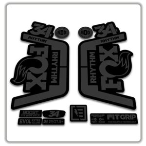Fox 34 Rhythm 2018 2019 Fork Stickers