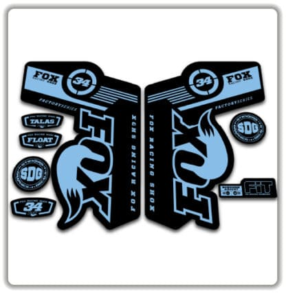 Fox 34 TALAS FLOAT Fork Stickers2011