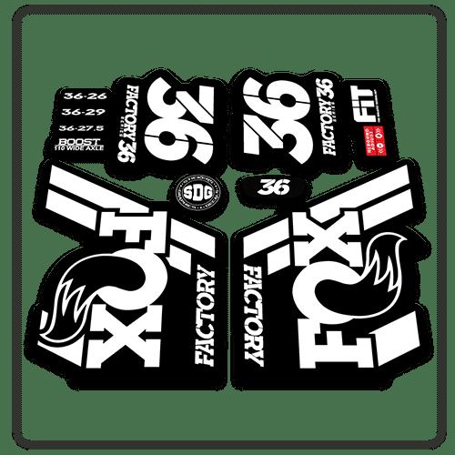 Stickers Fox 36 ✓ Satu Sticker