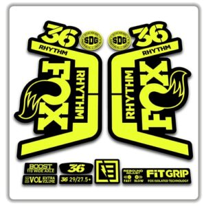 Fox 36 Rythm Fork Stickers 2018 2019