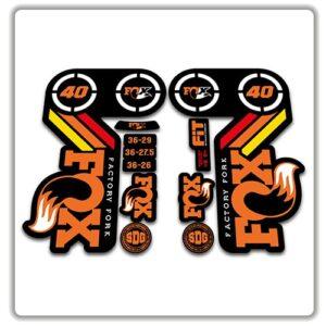Fox 40 Heritage 2015 Fork Stickers Original