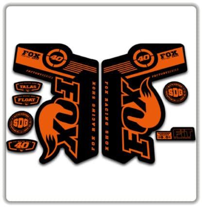 Fox 40 TALAS FLOAT Fork Stickers