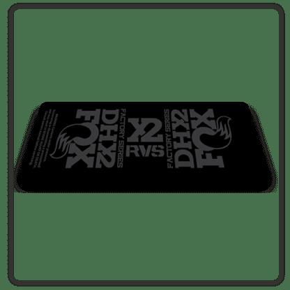 Fox DHX2 rear shock Stickers 2017 Stealth