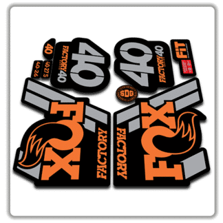 Fox Factory 40 2018 Fork Stickers Original