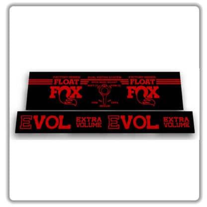 Fox Float DPS Factory Rear Shock Stickers 2017 2018