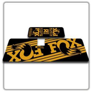 Fox Float X2 Rear Shock Stickers 2017 2018 Gold