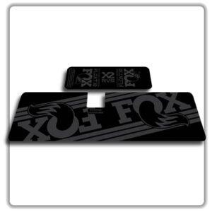 Fox Float X2 Rear Shock Stickers 2017 2018 Stealth