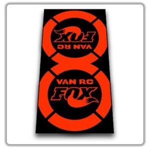 Fox Van RC 2018 2019 Rear Shock Stickers