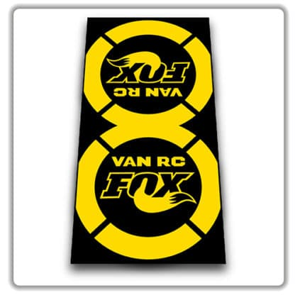 Fox Van RC 2018 2019 Rear Shock Stickers