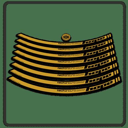 Gold Hope Tech Enduro 29 Rim Stickers