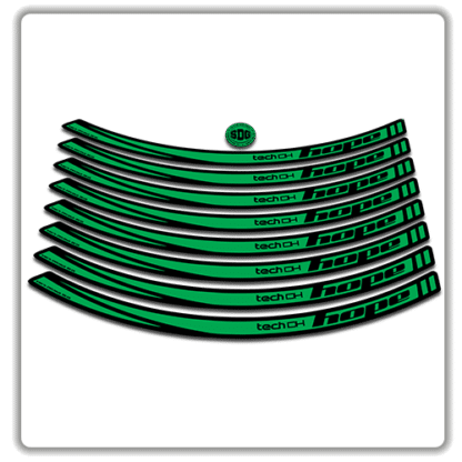 Green Hope Tech DH26 Rim Stickers