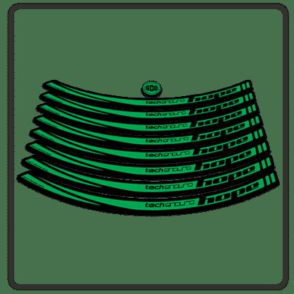 Green Hope Tech Enduro 26 Rim Stickers