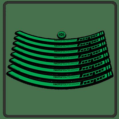 Green Hope Tech Enduro 29 Rim Stickers
