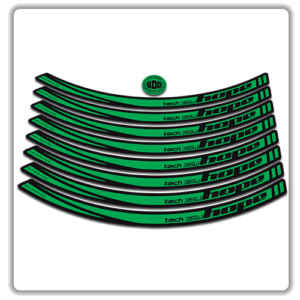 Green Hope Tech Enduro 35W Rim Stickers
