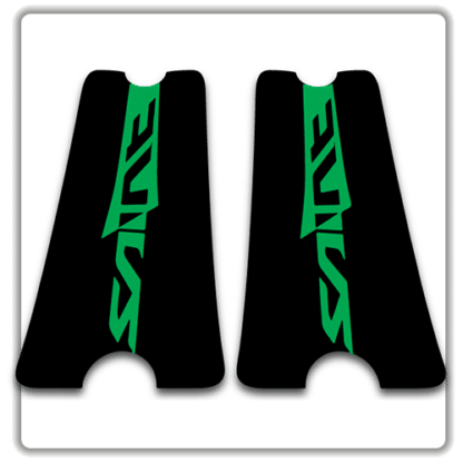 Green Saint Crank stickers