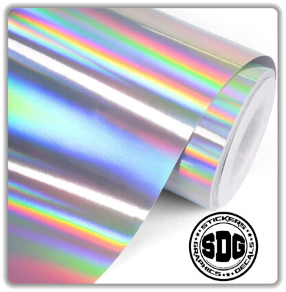 Holographic Chrome Stickers