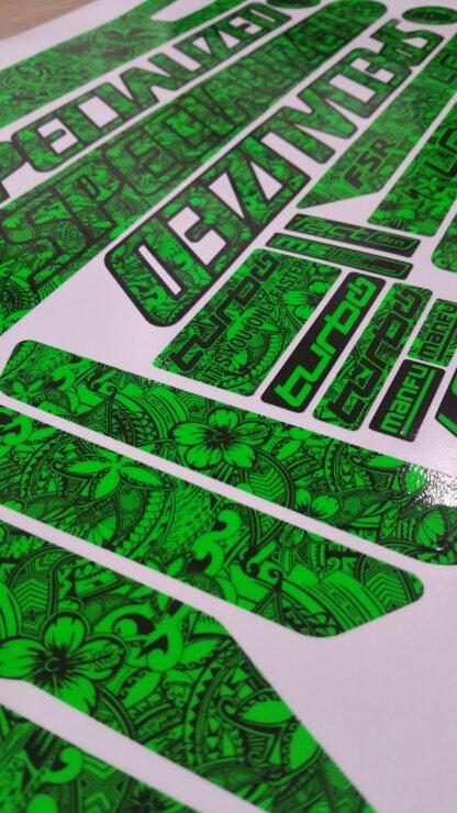 Levo Tribal Stickers
