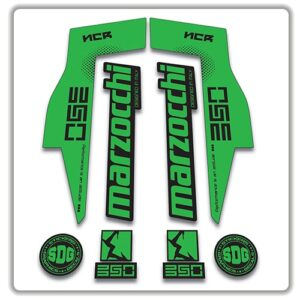 Marzocchi NCR350 Fork Stickers green