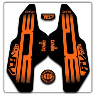 Orange Bos Deville FCV Fork Stickers