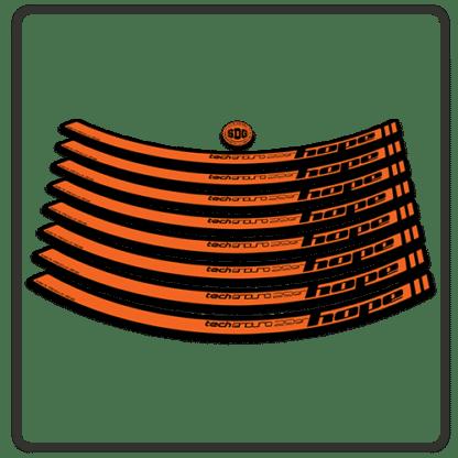 Orange Hope Tech Enduro 29 Rim Stickers