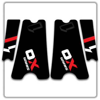 Original SRAM X01 crank arm stickers