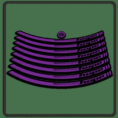 Purple Hope Tech Enduro 29 Rim Stickers