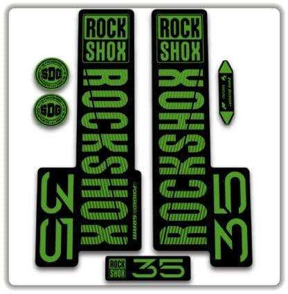 rockshox 35 fork stickers 2020
