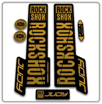 Rockshox Judy Fork Stickers 2018 2020