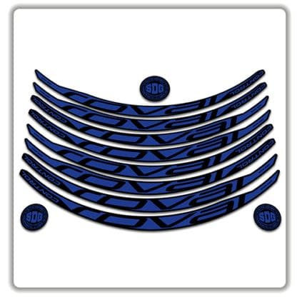 ROVAL CONTROL CARBON 29er 2017 2018 rim stickers blue