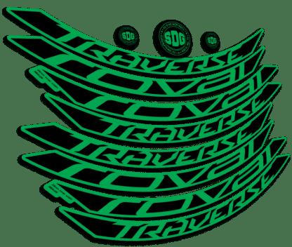 ROVAL TRAVERSE ALLOY 650B 2015-17 Green