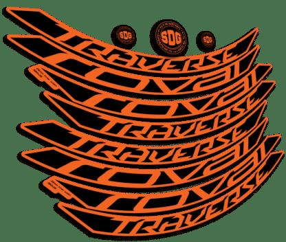 ROVAL TRAVERSE ALLOY 650B 2015-17 Orange