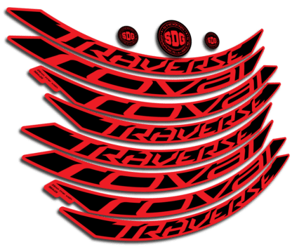 ROVAL TRAVERSE ALLOY 650B 2015-17 Red