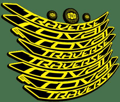ROVAL TRAVERSE ALLOY 650B 2015-17 Yellow